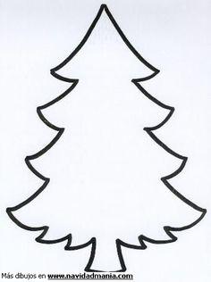 Siluetas de hojas de acebo para navidad dibujos para - Laminas de navidad para colorear ...