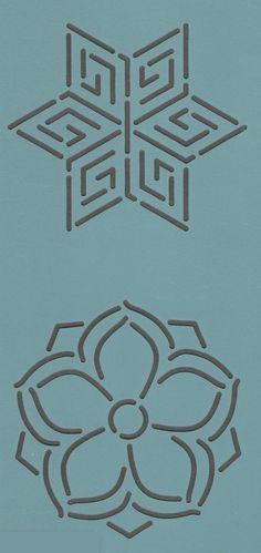 """Mini Block #38-3"""" - The Stencil Company"""