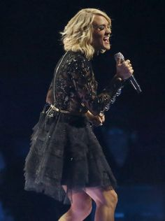 Carrie Underwood performs during a concert at Chesapeake Energy Arena in Oklahoma City, Wednesday, Nov. 23, 2016. Photo by Bryan Terry, The Oklahoman