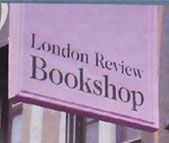 london review bookshop and cafe