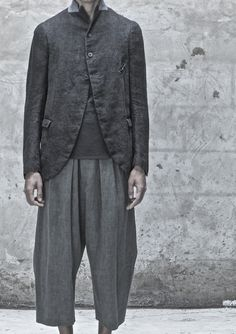Ziggy Chen S/S 2014 Introspective Explorations of Archetypal Form Inspiration Mode, Jackett, Mode Style, Style Men, Look Cool, Work Wear, Vintage Outfits, Men Casual, Casual Styles