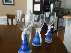 Special Events Wine Glasses by KandLStudios on Etsy
