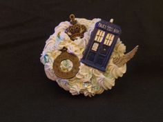 Kawaii Cute Decoden Dr. Who inspired Compact Mirror by Fangirl505 on Etsy