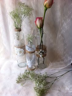 Rustic Wedding decor / cottage chic rustic by LoreNovedades