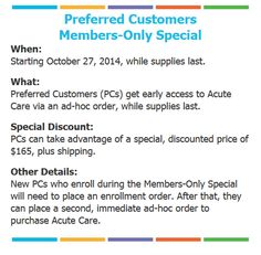 Special PC Pricing begins October 27m=, 2014!  Get it for Consultant Price - this is unheard of!  If you are not a PC of mine, now is a great time to start your journey to beautiful skin.  KrisRielag@gmail.com; (513) 616-7731 #rfacutecare