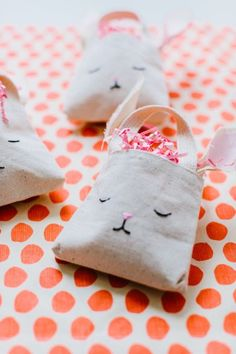 Sleeping bunnies - Easter Bunny Treat Bag