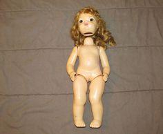 """Vintage 16"""" Terri Lee Doll~needs repaired"""