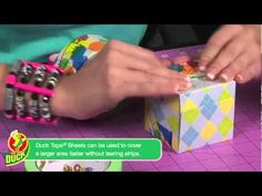 How to make a Duck Tape Coin Bank :) @Duck Brand