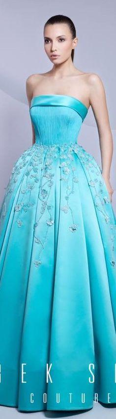 En cualquier color es bello como vestido de novia - Tarek Sinno couture 201