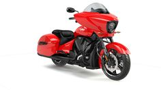 2016 Victory Cross Country Motorcycle - Red