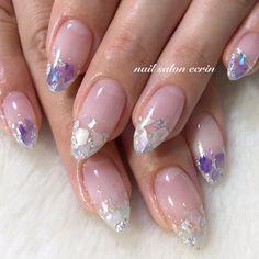 Nail art Christmas - the festive spirit on the nails. Over 70 creative ideas and tutorials - My Nails Nail Art Designs, Sparkle Nail Polish, Glittery Nails, Nail Art Halloween, Split Nails, American Nails, Unicorn Nails, Artificial Nails, Nail Arts