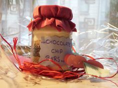 Chocolate Chip Bars (Or Gift Mix in a Jar).