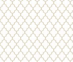 Khaki Ogee fabric by sparrowsong on Spoonflower - custom fabric  use as outside edge of drapes