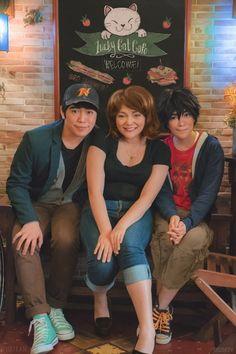 Big Hero 6 cosplay Hiro •  Jin (me) / Tadashi •  Miguel / Aunt Cass • Kat photos by Reskiy