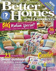 @bhgaus #magazines #covers #november #2016 #home #interiors #design #style #renovate #update #inspiration #DIY #projects #crafts #crochet #gardens #food #recipes #family