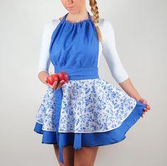 LUXUSNÁ KUCHYNSKÁ ZÁSTERA FOLK Folk, Apron, Summer Dresses, Fashion, Moda, Popular, Summer Sundresses, Fashion Styles, Forks