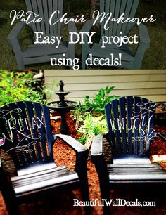 Donu0027t Hate Your Old Plastic Chairsu2014look What This Homeowner Did! | Resin, Paint  Furniture And Outdoor Living