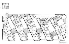 Coderch.EdificioGirasol.Plano