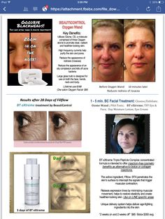 before and after results using BeautiControl SPA treatments. www.beautipage.com/abouschart