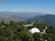 From the Mount Wilson Observatory, Mt. Wilson, California.