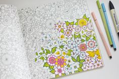 Secret Garden: An Inky Treasure Hunt and Coloring Book by Johanna Basford.