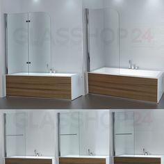 Duschwand Badewanne badewanne 2 ftg falttür duschwand drehen 180 trennwand