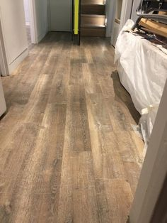 Installing Amtico Wood Plank Design to Rooms