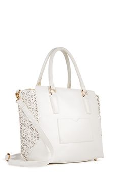 There's nothing hauter than a white bag for spring!