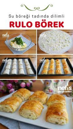 Turkish Recipes, Ethnic Recipes, Brunch, Food And Drink, Cooking Recipes, Bread, Snacks, Baking, Breakfast