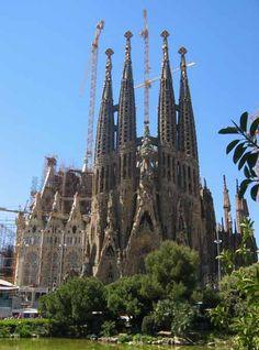 La Sagrada Familia--Barcelona, Spain