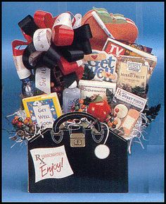 Dr orders. get well soon gift basket
