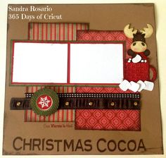 Christmas Cocoa Page layout