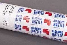 Die sommerliche Blobbing-Battle-Tour findet reißenden Anklang, was dieses Jahr zur Produktion einiger Sticker-Walzen führte. Battle, Sticker, Personal Care, Wheeling, Self Care, Personal Hygiene, Stickers, Decal