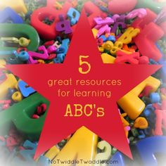 Is your preschooler ready for kindergarten? Here are 5 great resources for learning letters and their sounds!
