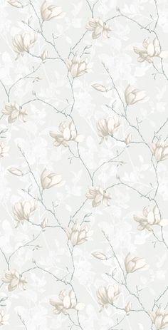 Tapet 23029: Lily Tree 03 från Boråstapeter - Tapetorama Tiny Bird, Background Vintage, Tyger, Weaving, Display, Texture, Collages, Floral, Maps
