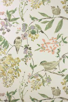 PENGLAI wallpaper Nina Campbell at Pedroso & Osório  #ninacampbell #pedrosoeosorio #wallpaper www.pedrosoeosorio.com