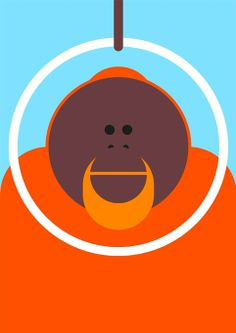 O is for orangutan