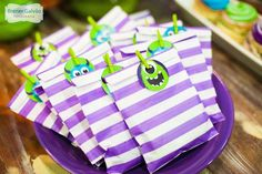 Monster Party Birthday Party Ideas | Photo 1 of 14 | Catch My Party