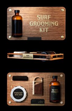 package / surf grooming kit