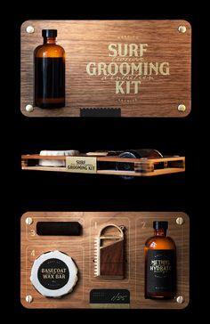 package / surf grooming kit