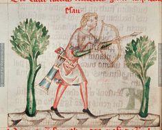 """Concordantiae Caritatis"" des Ulrich von Lilienfeld Germany 1349-1351"