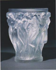 Baccbantes Vase (1932)    By Rene Lalique