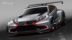 #Mitsubishi Concept XR-PHEV Evolution Vision Gran Turismo. See more on Motor Authority