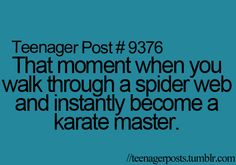Already mastered about a million times and freaked for about five minutes afterwards!!:)