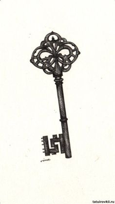 Pin Antique Skeleton Key Tattoos Otugunesa On Pinterest Sister Tattoo Ideas | tattoos picture key tattoos