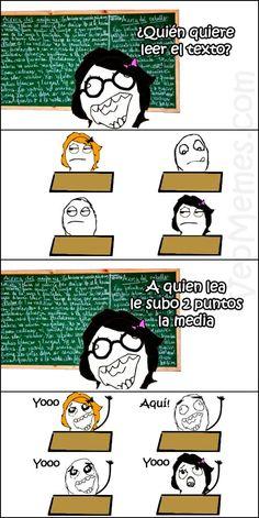 Intereses en clase (MEMES)