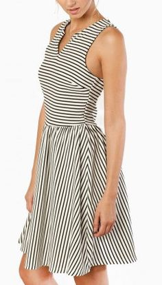 Nautia Striped Dress