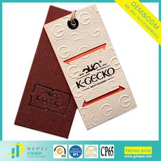 Source Custom high quality paper card and logo printed swing hang tag on m.alibaba.com Brand Packaging, Packaging Design, Fancy Words, Leather Label, Tag Design, Fashion Labels, Hang Tags, Innovation Design, Mac