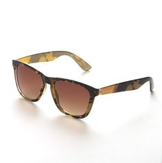 Python Printed Wayfarer - Betsey Johnson Sunglasses