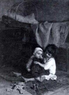 The little mother by Pierre Edouard Frère